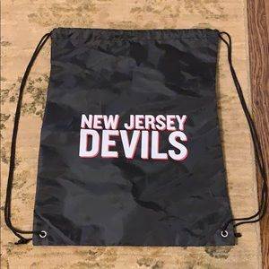 NJ Devils Drawstring Bag